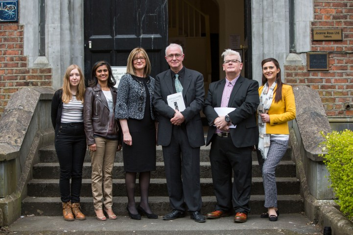 Mary O Keeffe, Vijay Fitzgerald, Marie Slattery, Head of Marketing Shannon Group, Joseph O Connor, UL, Eoin Devereux, UL and Rachel Kealy attending the launch of the The UL/Frank McCourt Summer School in Creative Writing at the Frank McCourt Museum, Limerick. The UL/Frank McCourt Summer School in Creative Writing will take place in New York from July 7th -10th inclusive. The Summer School will be led by the renowned novelist and Frank McCourt Chair of Creative Writing Professor Joseph OÕConnor. The UL Frank McCourt Summer School is open to applications from those based in the USA and to those willing to travel from Ireland. Picture: Oisin McHugh/FusionShooters