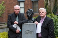 Joseph O Connor, UL and Eoin Devereux, UL attending the launch of the The UL/Frank McCourt Summer School in Creative Writing at the Frank McCourt Museum, Limerick. The UL/Frank McCourt Summer School in Creative Writing will take place in New York from July 7th -10th inclusive. The Summer School will be led by the renowned novelist and Frank McCourt Chair of Creative Writing Professor Joseph OÕConnor. The UL Frank McCourt Summer School is open to applications from those based in the USA and to those willing to travel from Ireland. Picture: Oisin McHugh/FusionShooters