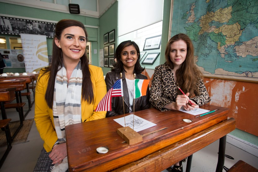 Rachel Kealy, Vijay Fitzgerald and Susa Loughnane attending the launch of the UL/Frank McCourt Summer School in Creative Writing at the Frank McCourt Museum, Limerick. The UL/Frank McCourt Summer School in Creative Writing will take place in New York from July 7th -10th inclusive. The Summer School will be led by the renowned novelist and Frank McCourt Chair of Creative Writing Professor Joseph OÕConnor. The UL Frank McCourt Summer School is open to applications from those based in the USA and to those willing to travel from Ireland. Picture: Oisin McHugh/FusionShooters