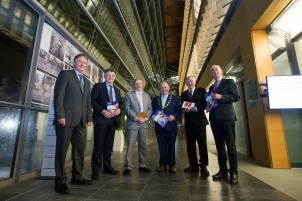 Significant Milestone in the Provision of 3rd Level Education in Ireland as UL and MIC Launch Joint Liberal Arts Programme. Prof. Tom Lodge, Dean, Faculty of Arts, Humanities and Social Sciences at the University of Limerick, Michael Breen, Dean of the Faculty of Arts, Mary Immaculate College, Prof. Eugene Wall, Vice President of Mary Immaculate College, Mayor of the City and County of Limerick, Cllr. Kieran OÕHanlon, Prof Don Barry, President University of Limerick and Prof Paul McCutcheon, Vice President Academic & Registrar at the launch in the council chamber of the Limerick City and County Council, Dooradoyle. Monday 5th December marked a significant milestone in the provision of third level education in Limerick, and indeed Ireland, as Mayor of the City and County of Limerick, Cllr. Kieran OÕHanlon, officially launched a Liberal Arts programme, to be jointly offered by the University of Limerick (UL) and Mary Immaculate College (MIC). UL and MIC have been offering successful BA programmes for decades, but this ambitious, far-reaching project will offer students a wider range of choices making it the largest jointly delivered programme in Ireland. From September 2017 up to 700 students will enrol in an enhanced liberal arts programme, with an offering of nineteen different subjects, allowing students a combination of more than 150 pathways. Pic Sean Curtin True Media.