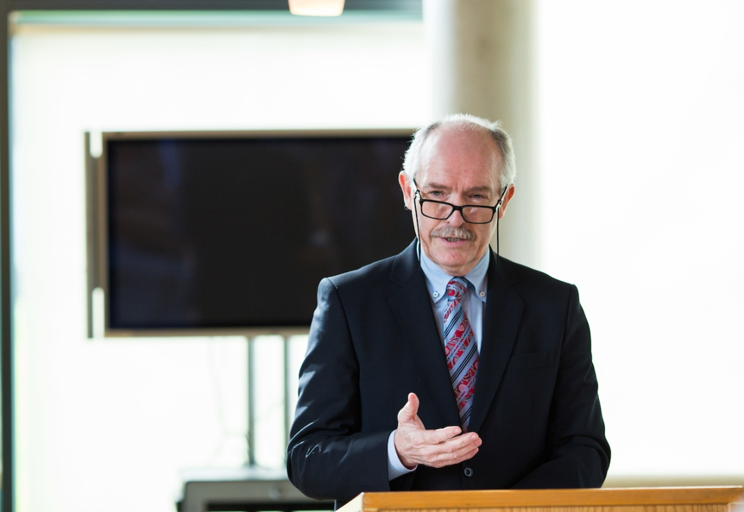 22.03.2017 Abandoning the protection of sources would destroy the search for truth, one of the fundamental principles underpinning journalism, a leading national media figure has warned. Speaking at his inaugural lecture as Adjunct Professor of Journalism at University of Limerick, Gerard Colleran (pictured) said truth is the only motivation of journalists, regardless of its source. Picture: Alan Place