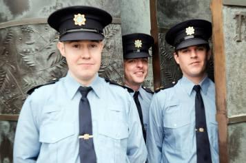 Garda Billy Hallinan, Clonmel, Garda Brian Sanderson, Wexford and Garda Peter Barber, Dublin