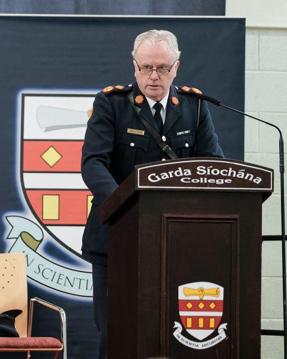 Acting Garda Commissioner Dónall Ó Cualáin