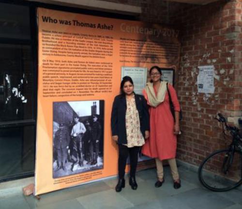 Prof Atwal with Dr Radha Gayathri