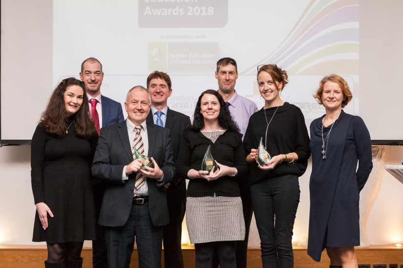 Winners of postgrad course awards