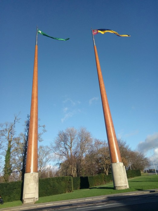 University of Limerick flagpoles
