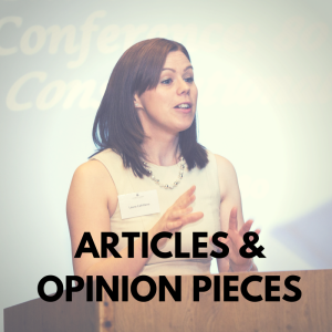 Articles & Opinion Pieces