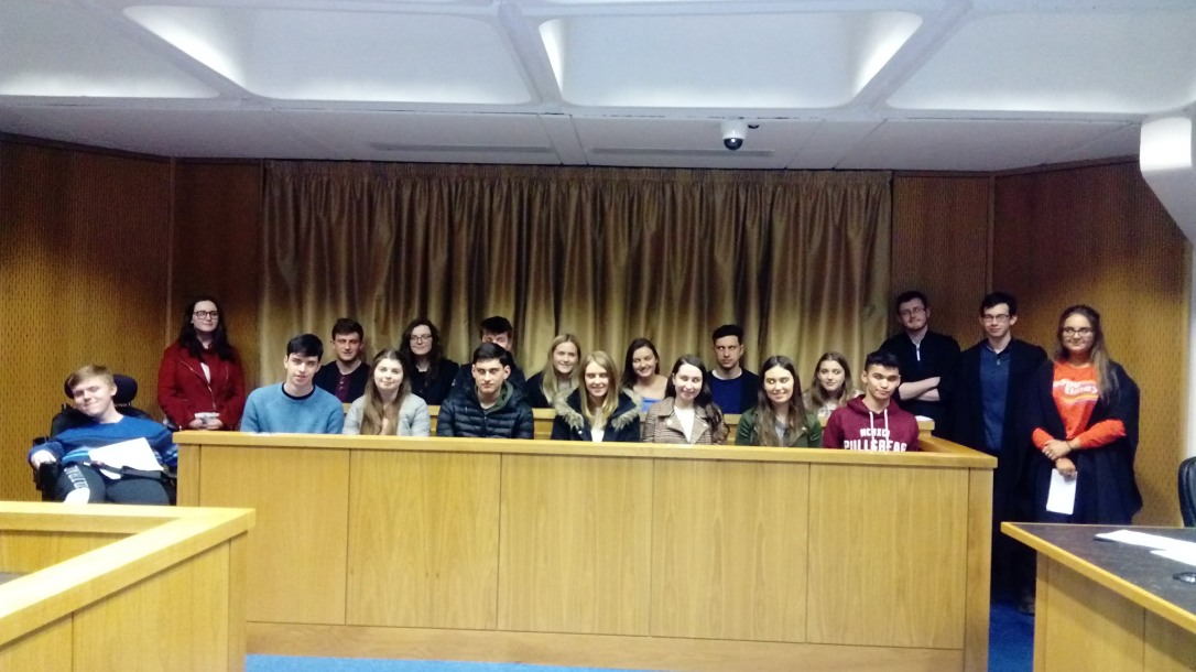Law for a Day student group