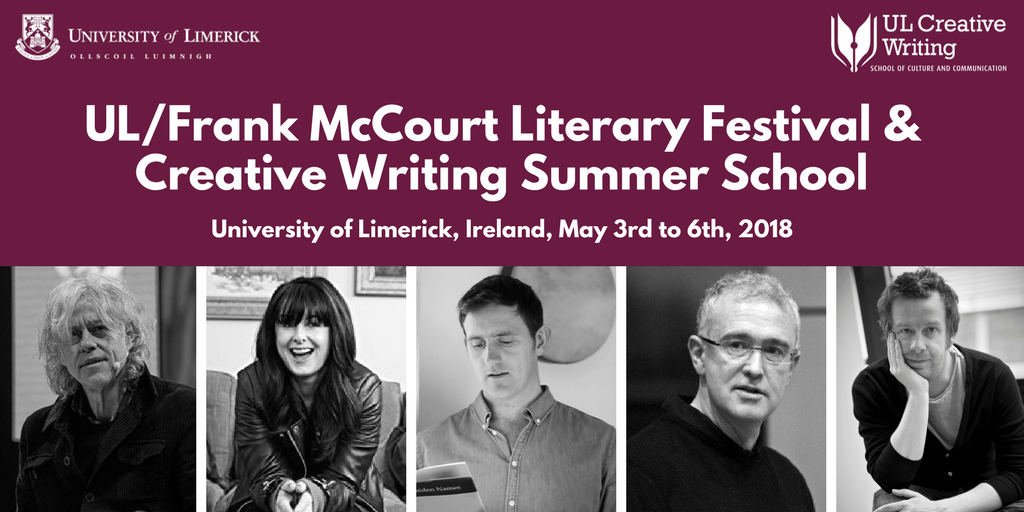 ULFrank McCourt Literary Festival & Creative Writing Summer School