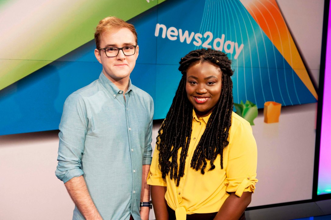 RTE news2day Cillian and Zainab (2)