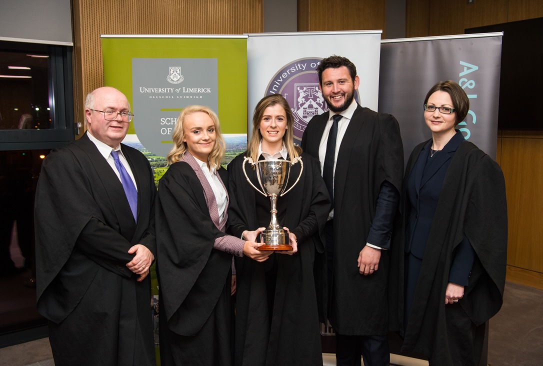Grand Final of the A&L Goodbody Moot Court Competition