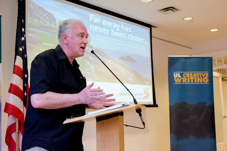 Launch of the UL/Frank McCourt Creative Writing Summer School New