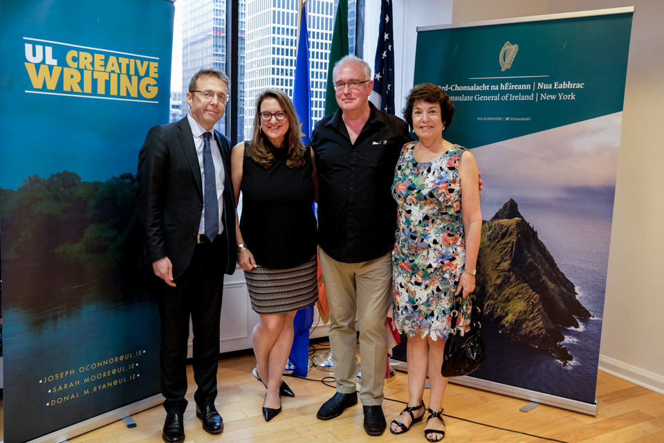 Launch of the UL/Frank McCourt Creative Writing Summer School New